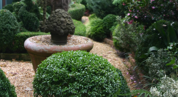 How to create your own English Courtyard