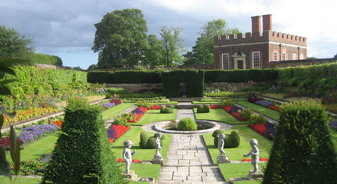 A Garden at Hampton Court